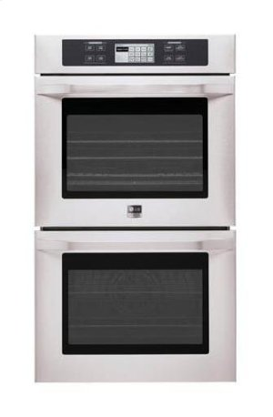 """LG Studio - 4.7(x2) cu.ft. Capacity 30"""" Built-in Double Wall Oven with Convection System Product Image"""