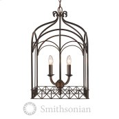 Smithsonian Gateway 4 Light Pendant in Fired Bronze