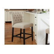 Upholstered Barstool (2/cn) Product Image