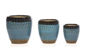 Overboard Cachepot - Set of 3