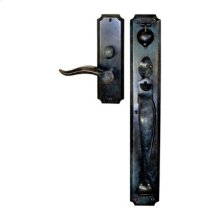 Solid Bronze Normandy Thumblatch-Lever Mortise Entry Set
