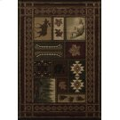 Contours Cabin Chalet Toffee Rugs Product Image