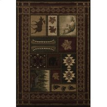 Contours Cabin Chalet Toffee Rugs
