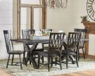 Sawbuck Dining Table Setting Product Image