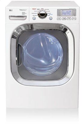 SteamDryer Ultra-Capacity Dryer with SteamSanitary Technology (White)