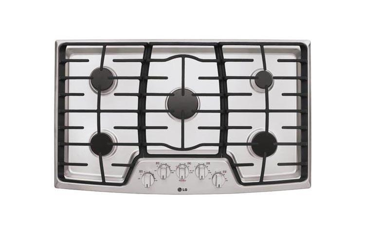 """LG Appliances36"""" Gas Cooktop With Superboil™"""