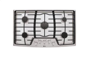 "36"" Gas Cooktop with SuperBoil Product Image"