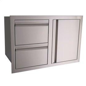 Double Drawer / Door Combo - VDC1