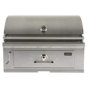 "Coyote36"" Charcoal Grill"