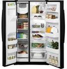 GE® ENERGY STAR® 25.4 Cu. Ft. Side-By-Side Refrigerator Product Image