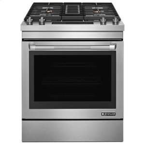 "JENN-AIRPro-Style® 30"" Dual-Fuel Downdraft Range"