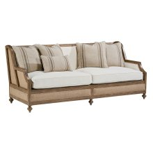 Ivory Foundation Sofa