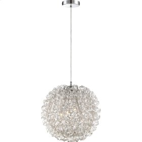 Pageant Chandelier in Polished Chrome