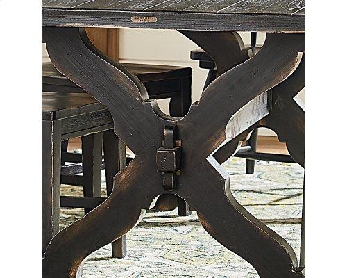 Chimney Sawbuck Dining Table
