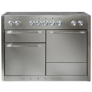 AGAAGA Mercury 48 Induction Stainless Steel with Chrome trim