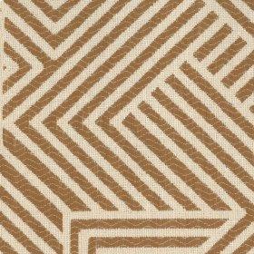 Folded Maze Beige Fabric