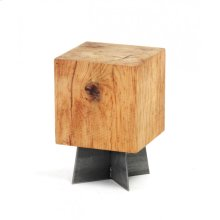 Stained Solid Oak Stool