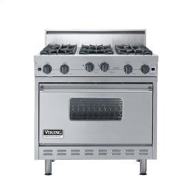 "Stainless Steel 36"" Open Burner Range - VGIC (36"" wide, six burners)"