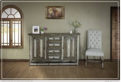 Console w/ 4 Drawers & 2 Doors Product Image