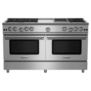"Bluestar60"" RNB Series Range with 12"" Griddle & Charbroiler"