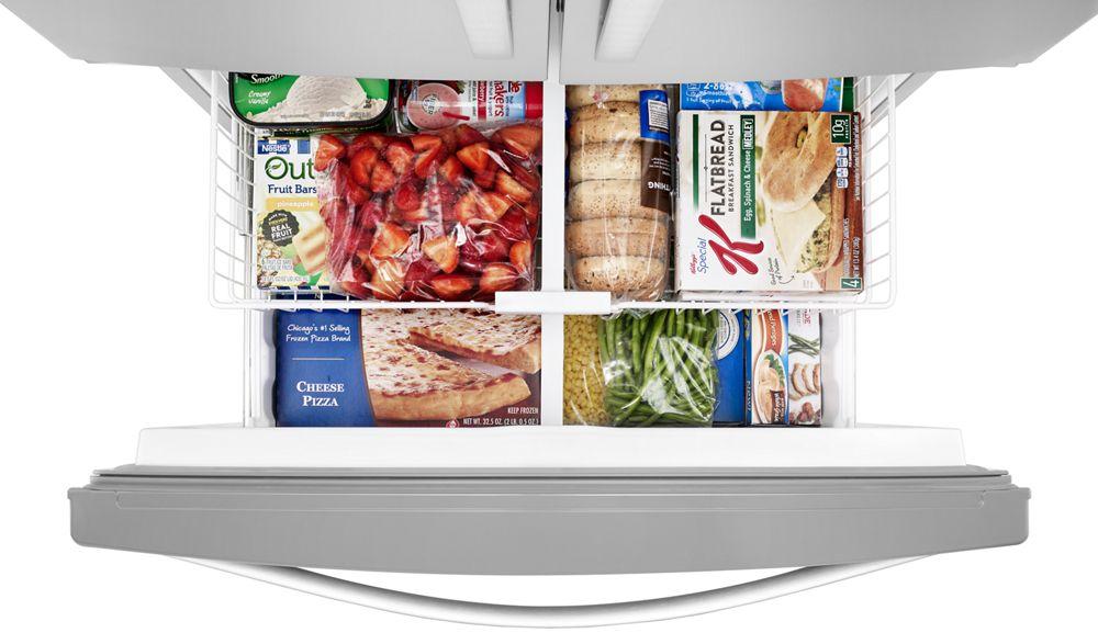 Wrf555sdfz Whirlpool 36 Inch Wide French Door Refrigerator