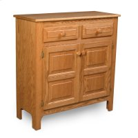 Country 2-Drawer Cabinet Product Image
