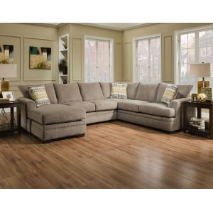 American Furniture Manufacturing6800 - Perth Pewter Sectional
