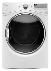 DISCONTINUED FLOOR MODEL 7.4 cu.ft Front Load Electric Dryer with Advanced Moisture Sensing, EcoBoost