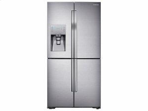23 cu. ft. Counter Depth 4-Door Flex Refrigerator with FlexZone Product Image