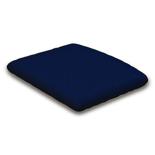 """Navy Seat Cushion - 12.65""""D x 15""""W x 2.5""""H"""