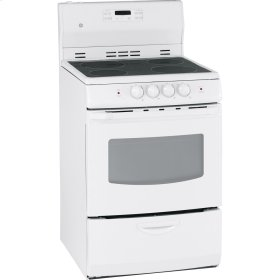 "24"" Free Standing Electric Self Clean Range"