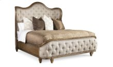 Continental Eastern King Shelter Bed - Weathered Nutmeg