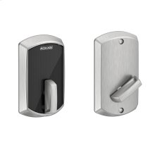 Schlage Control Smart Deadbolt with Greenwich trim - Satin Chrome