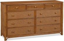 Summer Retreat 9-Drawer Dresser