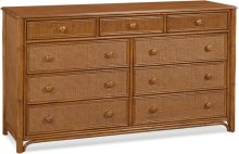 Summer Retreat 9-Drawer Dresser