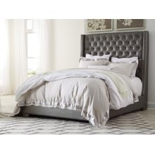 Coralayne - Silver 2 Piece Bed Set (Queen)