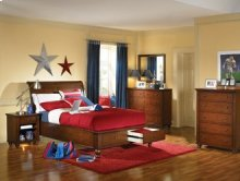Twin Sleigh Bed Headboard