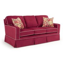 Annabel Collection S82 Stationary Sofa With Skirt
