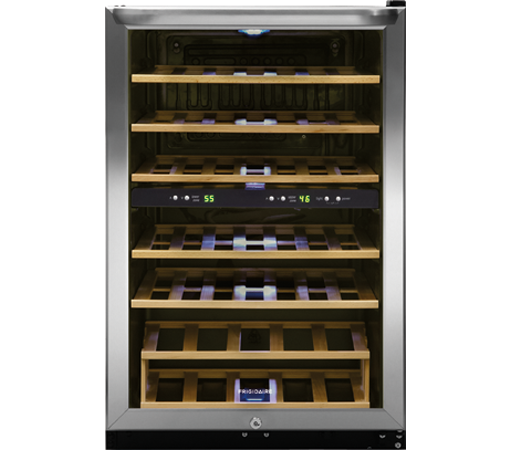 Frigidaire 38 Bottle Two Zone Wine Cooler