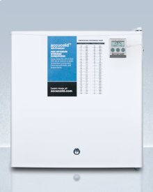 Compact All-freezer, Manual Defrost With A Lock and Nist Calibrated Thermometer