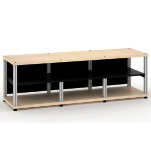 Salamander DesignsSynergy 20 Triple-Width Core Module with Center Opening, Maple with Aluminum Posts