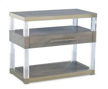 Argon Acrylic Night Stand