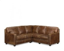 Two-Piece Houston Leather Sectional