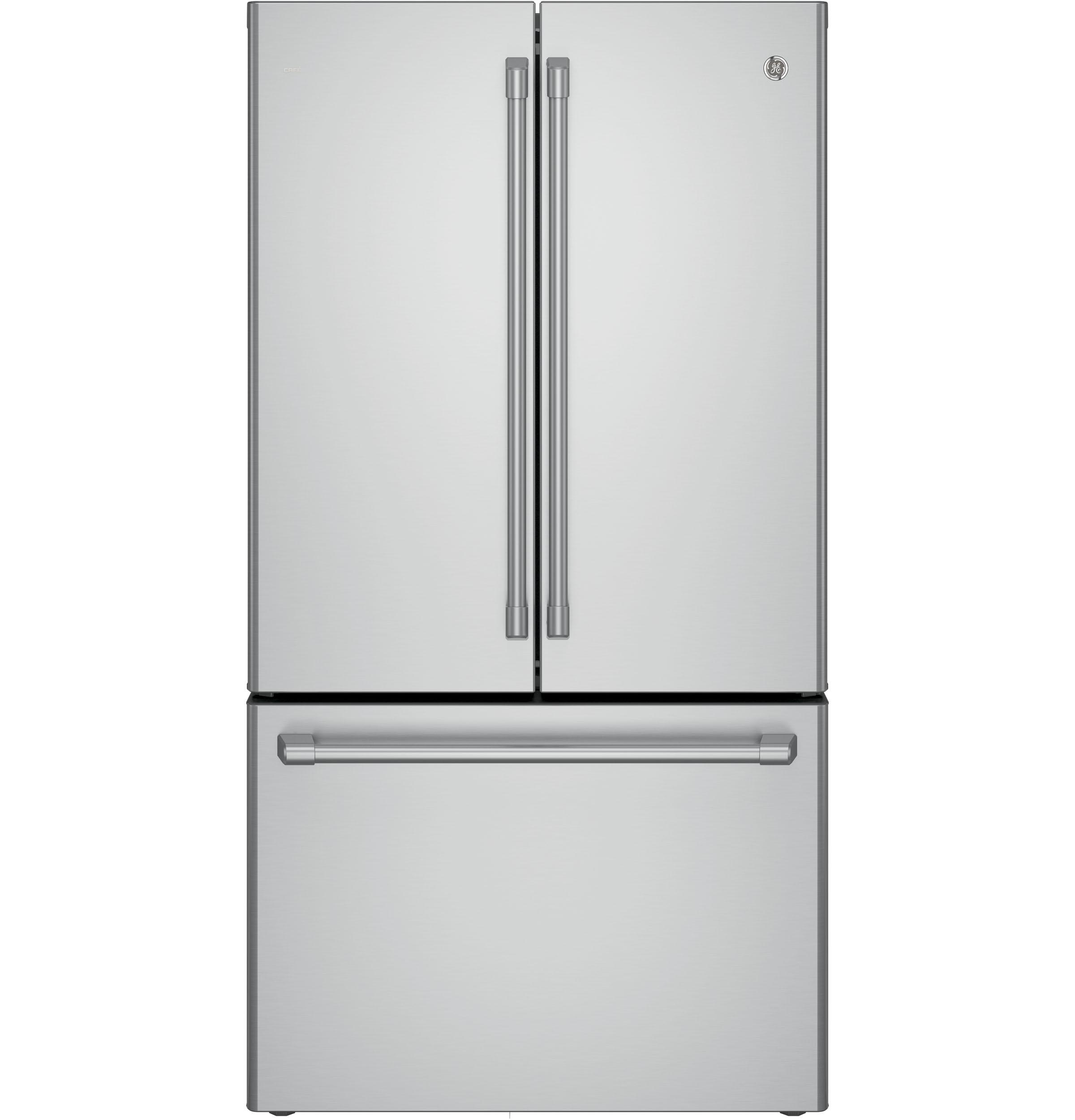 Gentil GE Cafe™ Series ENERGY STAR® 23.1 Cu. Ft. Counter Depth French