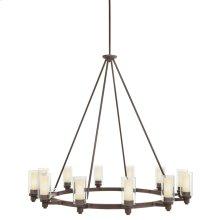 Circolo 12 Light Chandelier Olde Bronze®