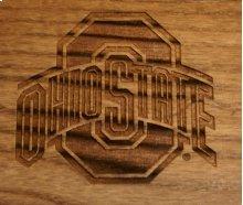 Ohio StateRocker with Laser Engraved Logo