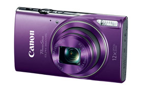 Canon PowerShot ELPH 360 HS Purple Digital Camera