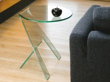 The Paso Clear End Table