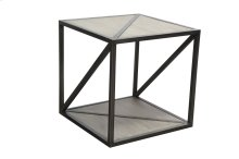 Lamp Table, Available in Silver Pearl Finish Only