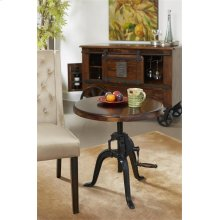 Adjustable Height Accent Table